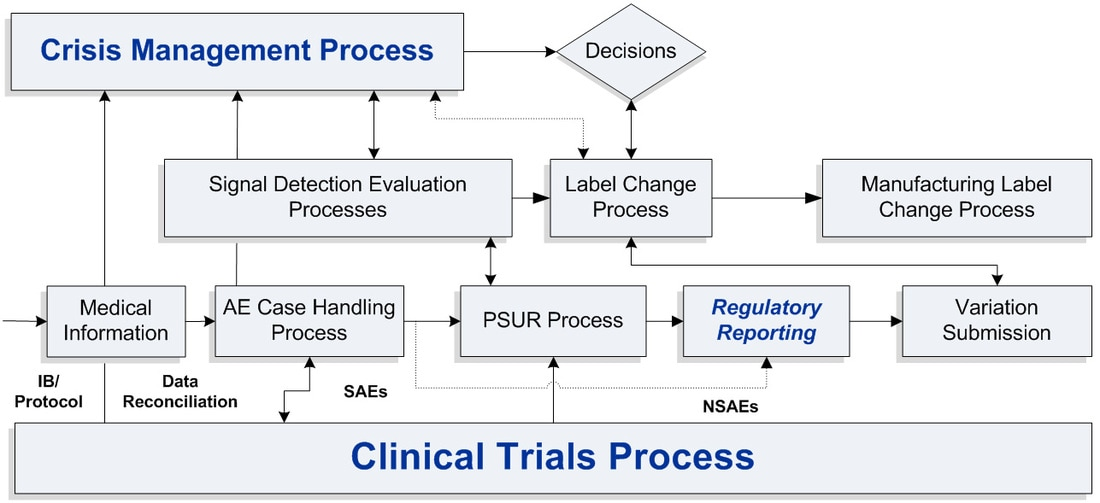 Lean Process Case Handling Pharmacovigilance Methodology